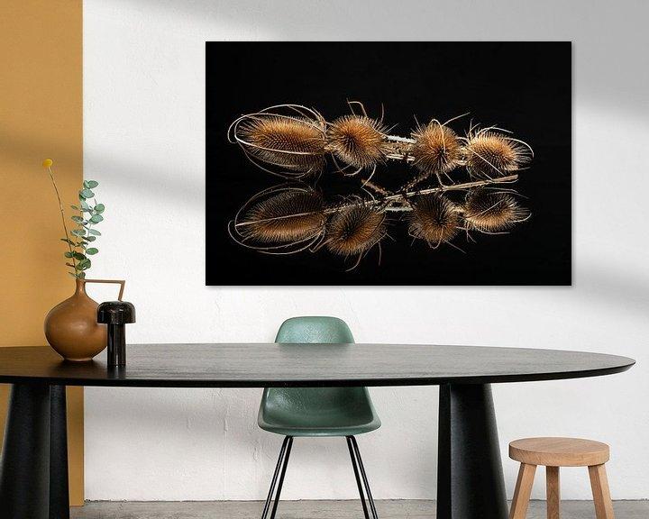 Sfeerimpressie: De grote kaardebol, over scherp gesproken II van Gerry van Roosmalen