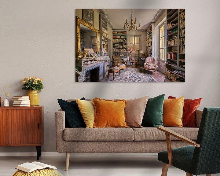Beispiel: Lost Place - das Bücherzimmer von Linda Lu