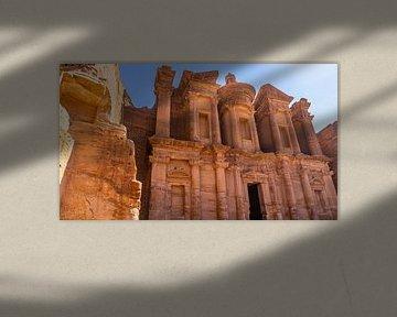 Das Kloster in Petra (Jordanien) von Jessica Lokker