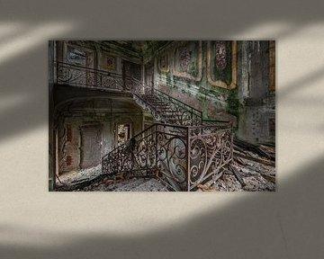 Lost Place - das grüne Treppenhaus