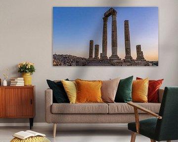 Zitadelle von Amman, Jordanien von Jessica Lokker