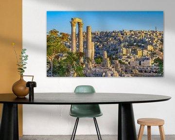 Citadel van Amman, Jordanië van Jessica Lokker