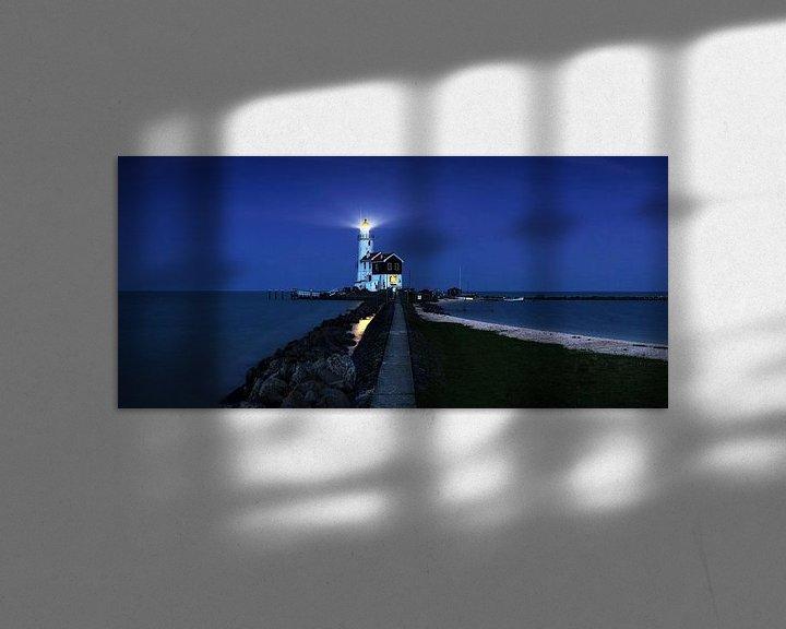 Impression: Paard van Marken à l'heure bleue sur Frank Herrmann