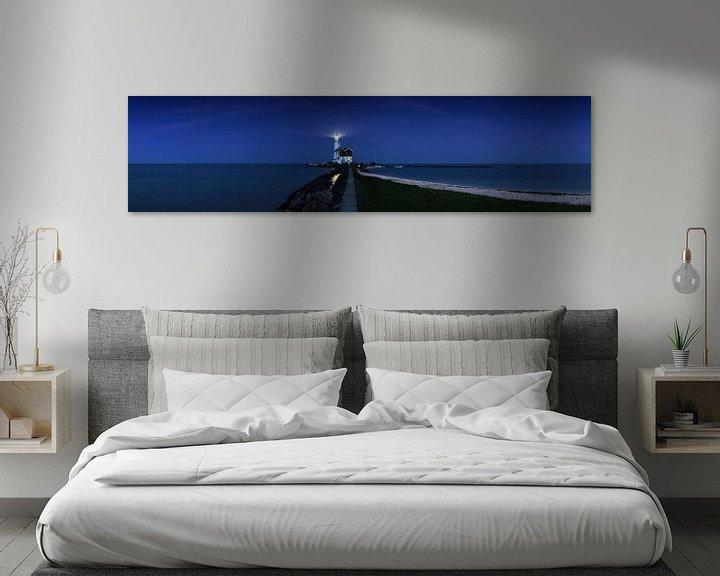 Impression: Paard van Marken à l'heure bleue - Panorama sur Frank Herrmann