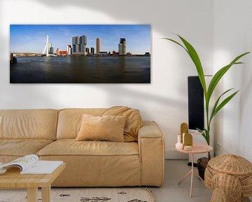 Rotterdam City Skyline von Frank Herrmann