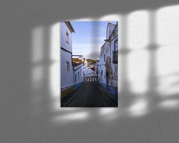 Typisch portugiesische Straße in Arraiolos