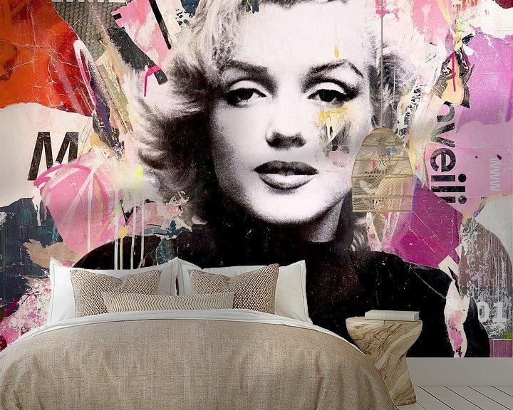 Sfeerimpressie behang: Marilyn van Michiel Folkers