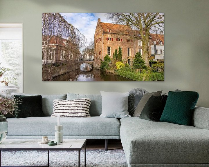 Sfeerimpressie: Huis op de Zuidsingel van Amersfoort (Nederland) van Jessica Lokker