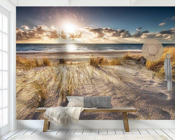 Sfeerimpressie behang: Haal adem op Sylt van Dirk Thoms