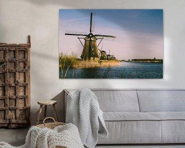 De molens bij Kinderdijk van Koen Bluijs