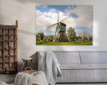 Hollandse windmolen van Anita van Gendt