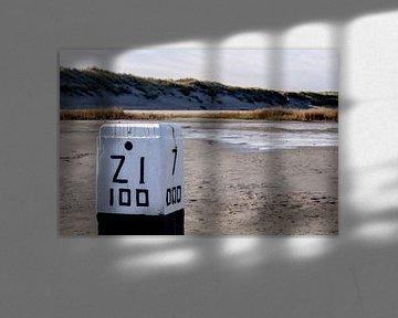 Stil leven op het strand van Linda van der Steen