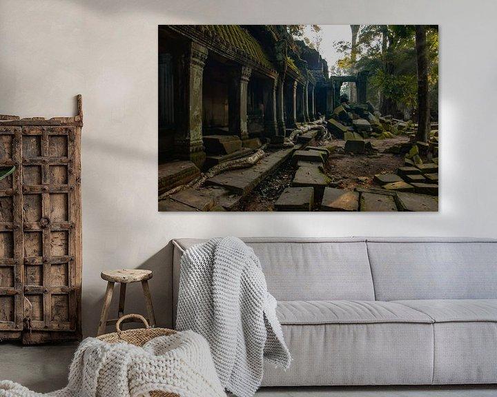 Sfeerimpressie: Tombraider Temple van Lizette Schuurman