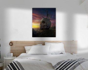 Sonnenuntergang von Alexander Tropmann