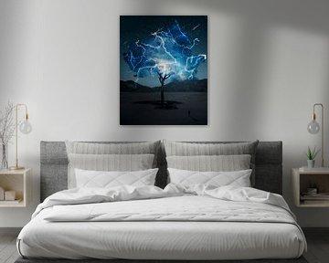 Elektrobaum von Alexander Tropmann