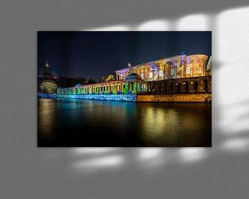 Museumsinsel Berlin in besonderem Licht von Frank Herrmann
