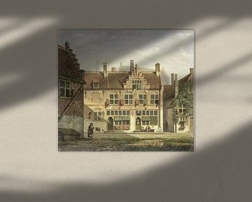 Eine Straße in Amersfoort, Johannes Jelgerhuis, 1826