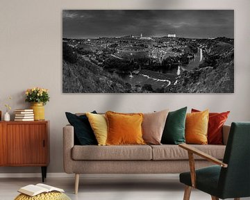 Toledo bei Nacht von Frank Herrmann