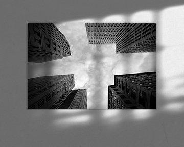 Wolkenkratzer in Berlin von Frank Herrmann