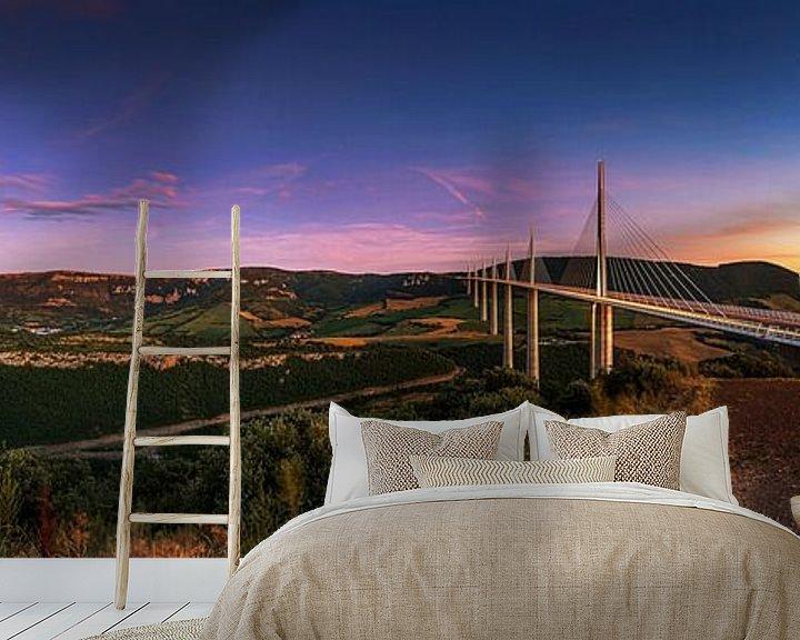 Impression: Viaduc de Millau- Panorama sur Frank Herrmann