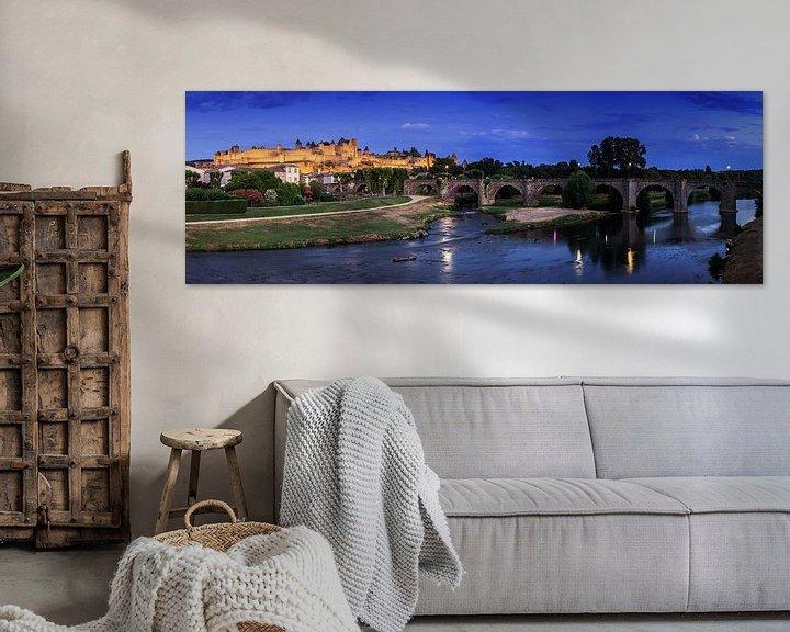 Impression: Panorama de Carcassonne sur Frank Herrmann