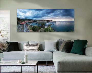 Collioure Panorama von Frank Herrmann