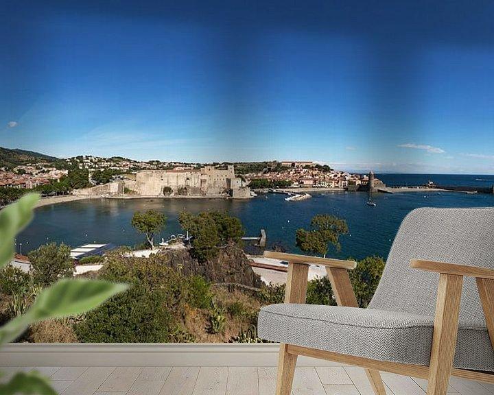 Impression: Panorama de Collioure sur Frank Herrmann