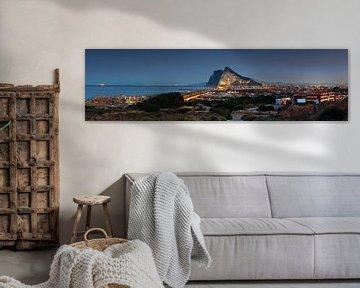 Gibraltar Panorama en La Linea de la Conception