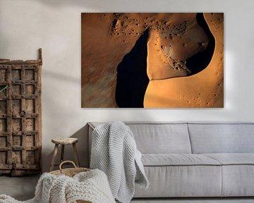 Duinen Namibië- Afrika van Jos van Bommel