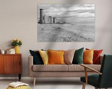 Strand Vlissingen von MSP Canvas