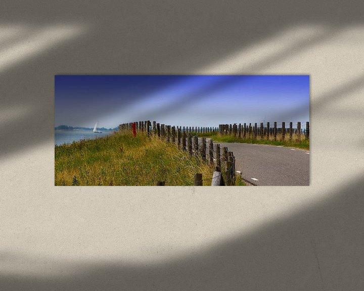 Sfeerimpressie: Schellinkhouterdijk in West-Friesland van Nathalie Pol