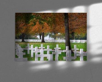 """Margraten Amerikaanse begraafplaats """"de rust"""". van Onno Alblas"""