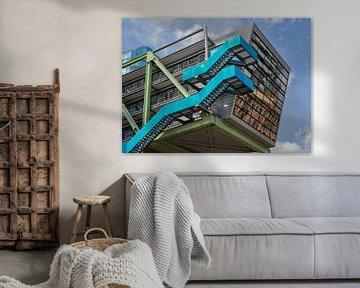 Die Blaue Treppe von Vincent Willems