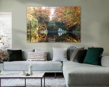Stenen brug Antwerpen van Dennis Donders