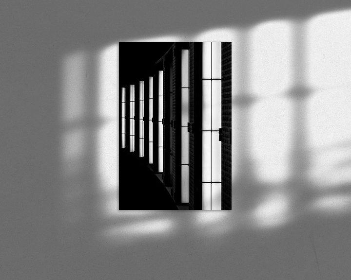 Beispiel: Detail der Lichter im Antwerpener Hauptbahnhof von Ribbi The Artist