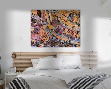Steengoede Art (Vormen en kleuren Bakstenen) van Caroline Lichthart