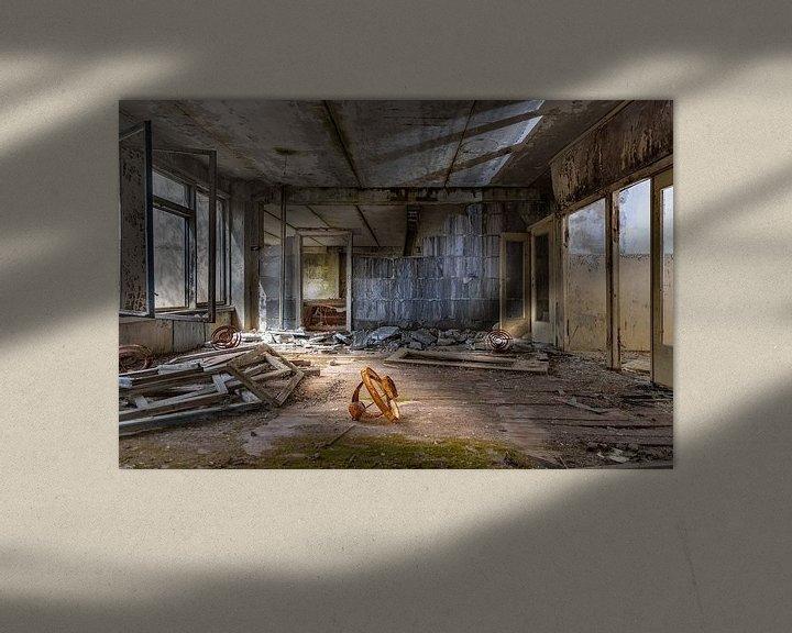 Beispiel: Schule nach Tschernobyl evakuiert von Gerard Wielenga