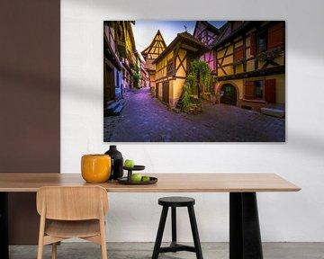 Eguisheim, Alsace France sur Dennis Donders