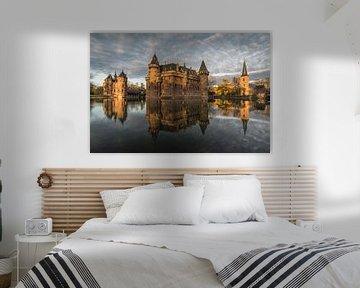 Schöne Besinnung auf Burg das Haar von Nick de Jonge - Skeyes