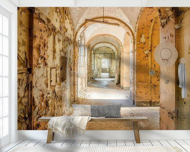 Beispiel fototapete: Verlassener Korridor von Bjorn Renskers
