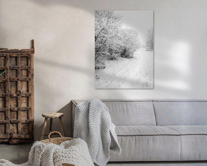 Impression: Le monde de la neige sur Eline