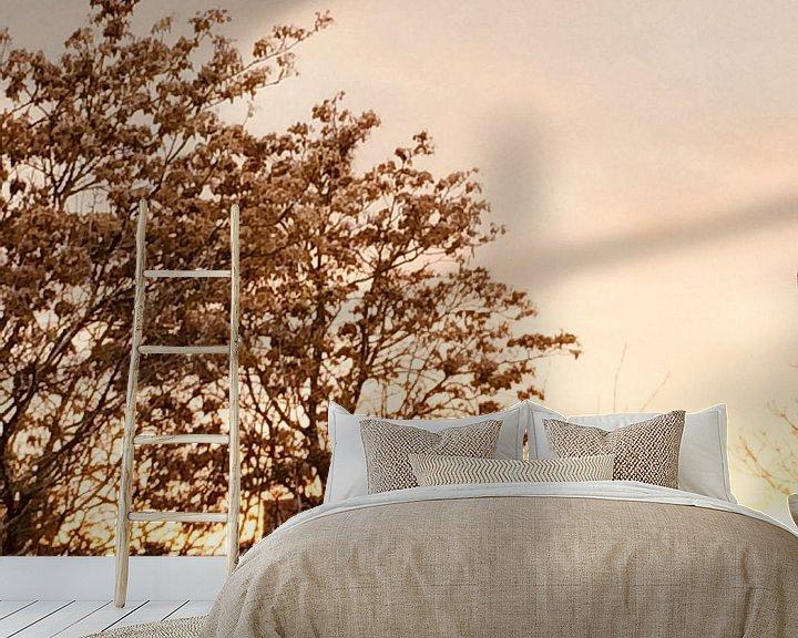 Sfeerimpressie behang: Sunset 2 van Eline