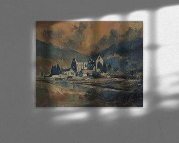 Verlaten abdij van Nop Briex