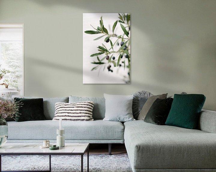 Sfeerimpressie: Olijfboom | Olijftakken | Botanische foto van Mirjam Broekhof