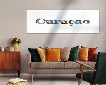 Curacao mit den Höhepunkten in den Briefen von Johnno de Jong