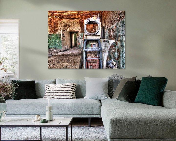 Beispiel: Verlassener Raum von Tineke Visscher