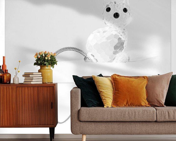 Sfeerimpressie behang: Miauw van Erik Reijnders