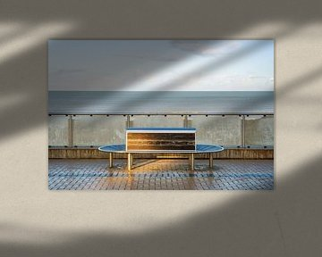 Bank in Koksijde von Johan Vanbockryck