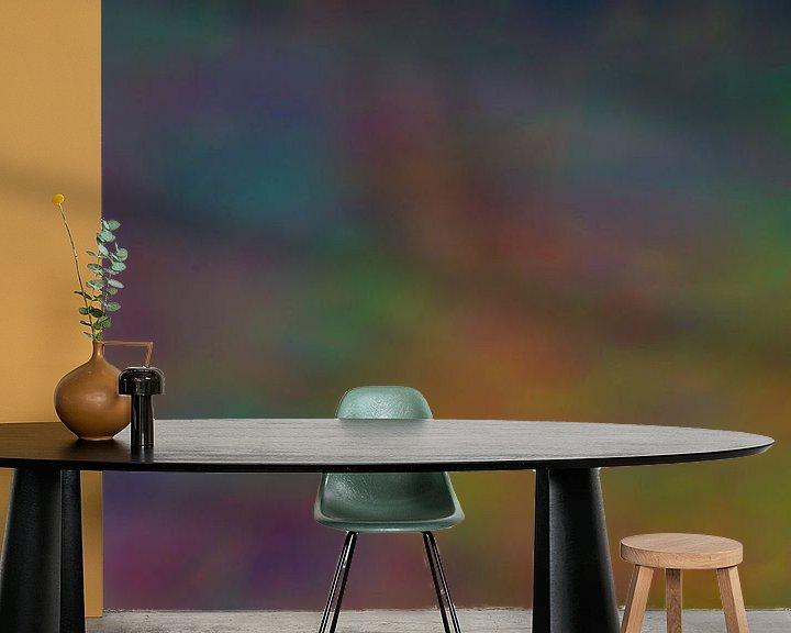 Sfeerimpressie behang: Denken in de mist van AtelierMindYourHead