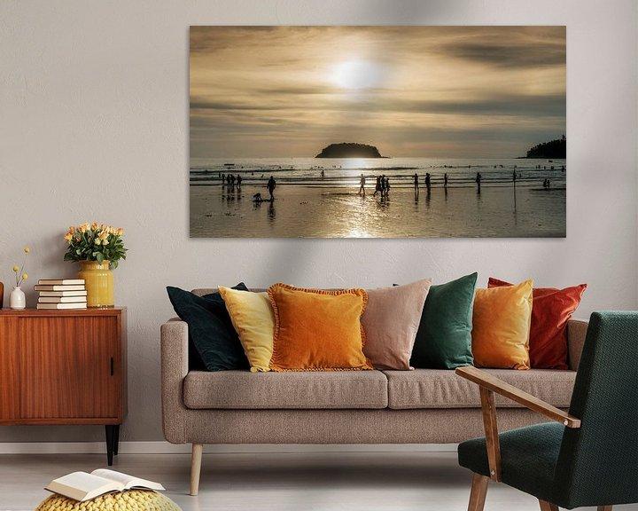 Sfeerimpressie: Kata beach, Phuket van Keesnan Dogger Fotografie